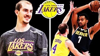 Alex Caruso Could Be the Lakers Future Backup Point Guard!