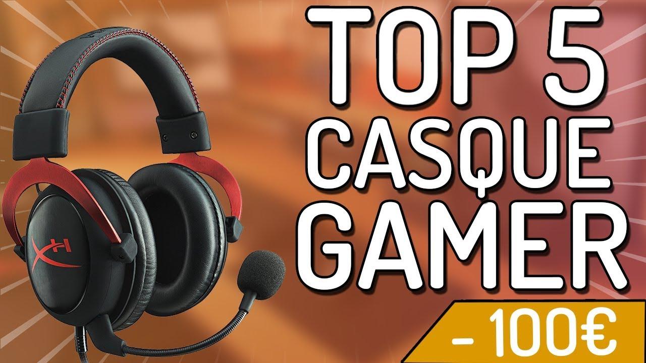 TOP 5 : MEILLEURS CASQUES GAMER PAS CHER