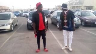 Nomiis Gee ft Osharey Young Alhaji video dance by member of Arewayuppies