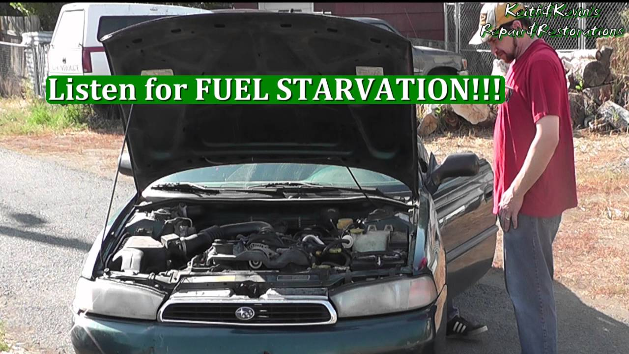hight resolution of how to diagnose a bad fuel pump 1996 subaru legacy 2 2l pt 2 diagnose