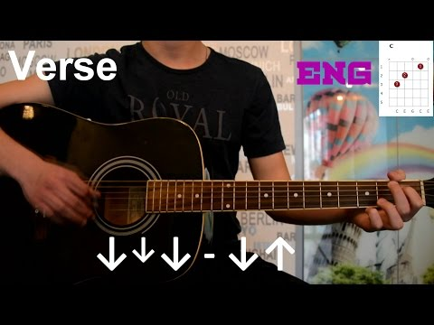imagine dragons bleeding out guitar lesson how to play easy tutorial acoustic no capo