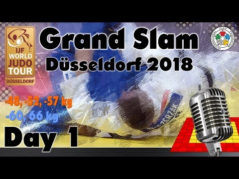 Judo Grand-Slam Düsseldorf 2018: Day 1