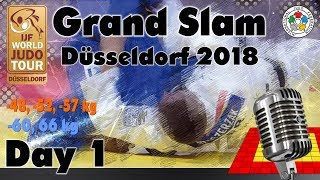 Judo Grand-Slam Düsseldorf 2018: Day 1