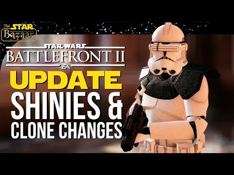 Shinies & Clone Skin Changes! Battlefront 2 Update thumbnail