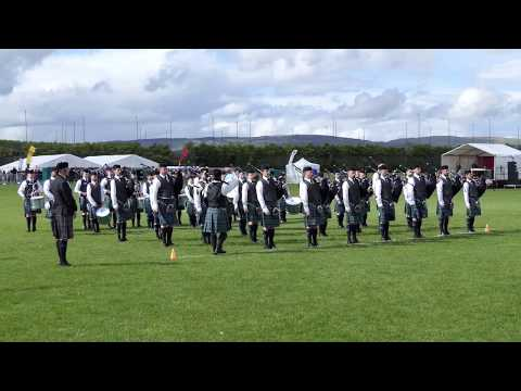 Inveraray and District Pipe Band - Winners of British Pipe Band Championships 2017 [4K/UHD]
