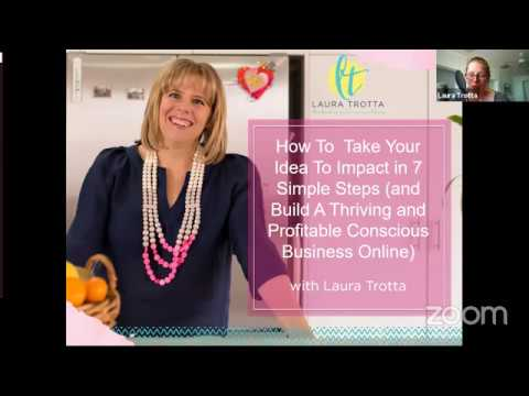How To Build A Thriving and Profitable Conscious Business Online