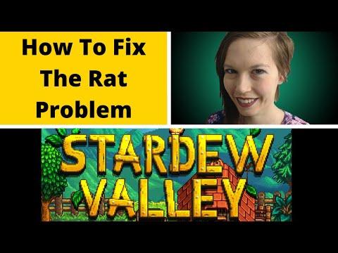 How To Fix The Rat Problem Stardew Valley