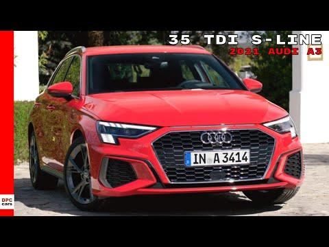 New 2021 Audi A3 Sportback 35 TDI S-Line
