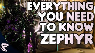 Warframe: Everything You Need To Know About Zephyr