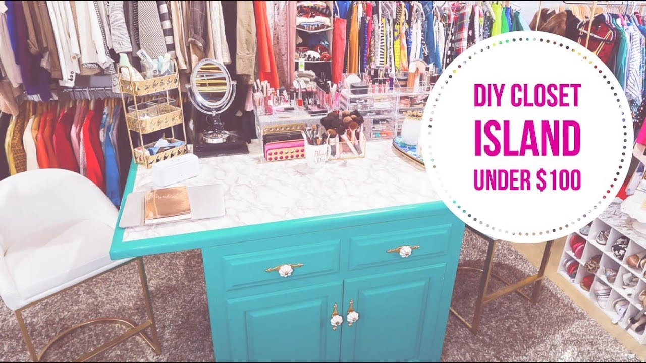 Closet Island DIY Under $100