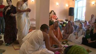 2009.06.20. Yagya anounce H.H. Bhaktividya Purna Swami - Riga, LATVIA