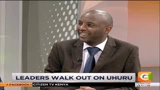 Leaders in Bomet county walk out of Uhuru's rally