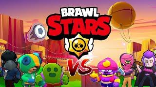 BRAWLERS LEGENDARIOS VS MITICOS - QUIEN ES MEJOR??! BRAWL STARS