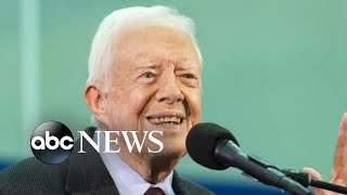 Jimmy Carter hospitalized, DACA in the Supreme Court, winter weather alert   ABC News