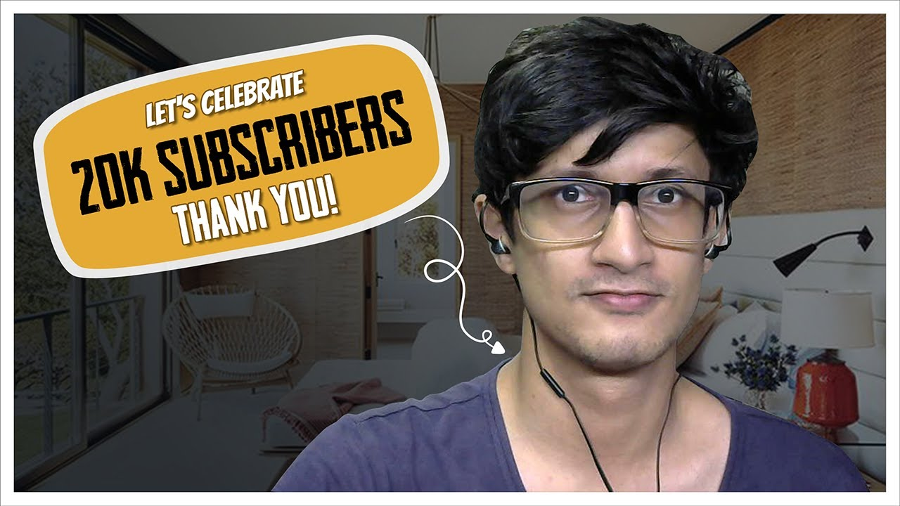 My Journey To 20,000 Subscribers - Thank You Very Much! ❤️