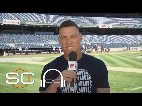 Aaron Judge excited for MLB postseason with Yankees   SC With SVP   ESPN