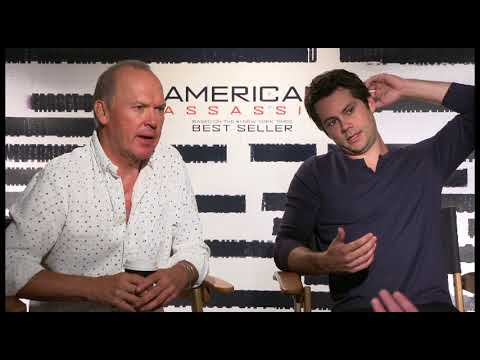 """""""American Assassin"""" - Michael Keaton and Dylan O'Brien interview"""