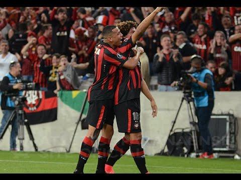 Gols: Atlético Paranaense 2x1 Flamengo