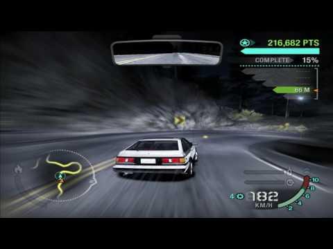 Need for Speed™: Carbon - Initial D with EUROBEAT - TAKUMI (Toyota Corolla AE86) vs. KENJI (EVO IX)