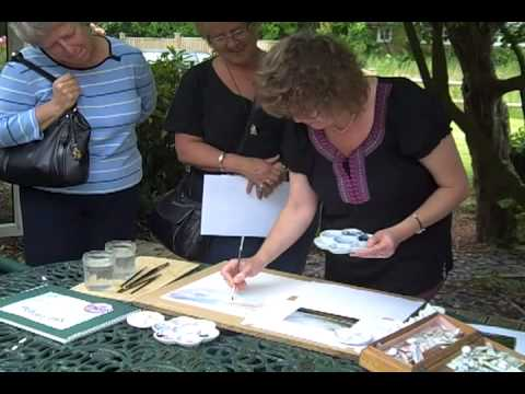 Guernsey Cottage Open Studio. Video 2
