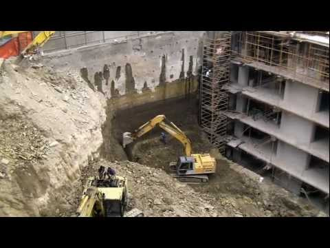 Trump tower foundations