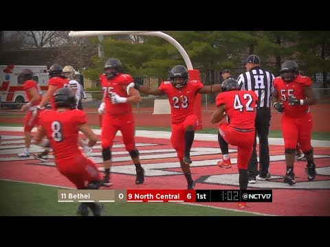 North Central College Football vs. Bethel // 11.24.18