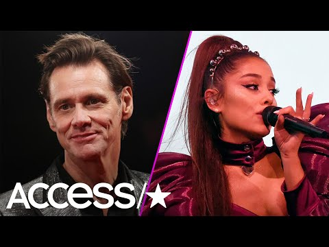 Kathi Yeager - Ariana Grande Adorable Reaction To Jim Carrey's Message On Twitter