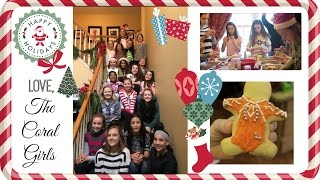 Our Coral Girl Christmas Party: Decorating Cookies & Secret Santa Gift Exchange | Simply Liv