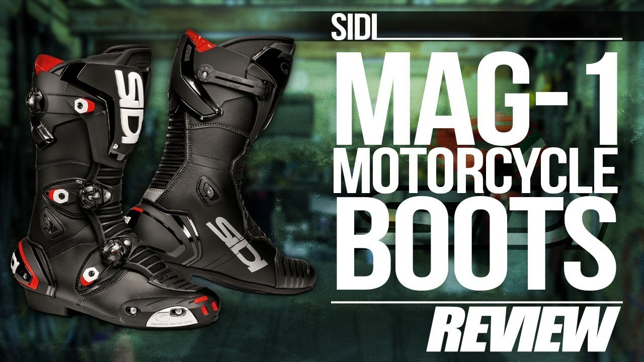 sidi mag 1 motorcycle boot review at youtube. Black Bedroom Furniture Sets. Home Design Ideas