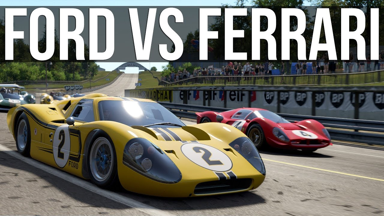 One Of The Greatest Rivalries In Racing Ford Vs Ferrari