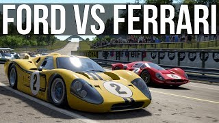 One of the Greatest Rivalries in Racing - Ford vs Ferrari