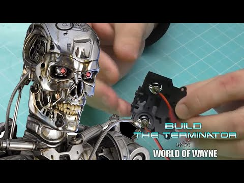 Build the Terminator - Issue 1 - The LED Eyes and Sockets
