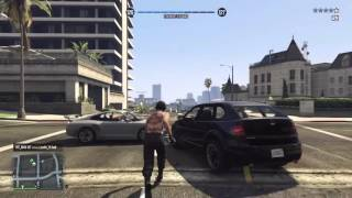 GTA V ONLINE H1T_M4N-187 (AKA) goons-we-be VS Justin_15-Shit