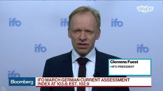 Germany Has a Divided Economy, Ifo President Fuest Says