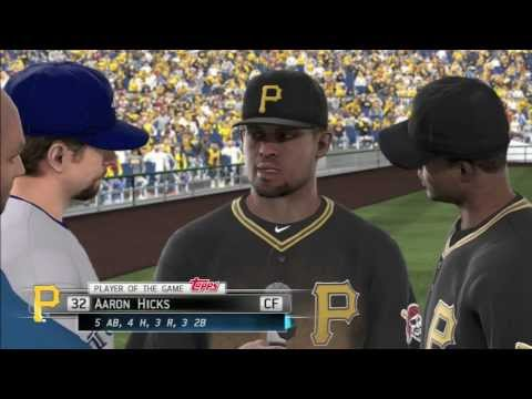 MLB 13 The Show Glitch: Go Away Creepy Todd Helton!