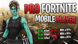 PRO FORTNITE MOBILE PLAYER // 275+ Wins // Fortnite Mobile Gameplay Tips & Tricks