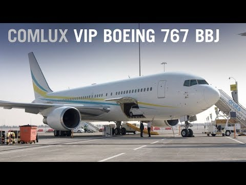 Comlux's VIP Boeing 767 BBJ Lets You Take Everything With You – AINtv