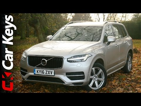 Volvo XC90 T8 Twin Engine Plug-in Hybrid Review - Better than a Range Rover? - Car Keys