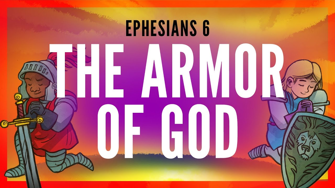 The Armor of God-Ephesians 6 | Sunday School Lesson and ...