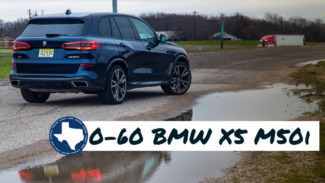 Quick 0-60 run in the 2020 BMW X5 M50i - YouTube