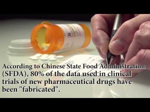 80% of data in Chinese clinical trials have been fabricated