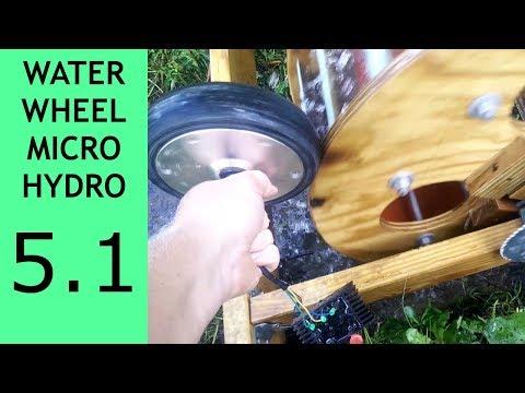 Waterwheel Microhydro P5.1, Alternate Alternator