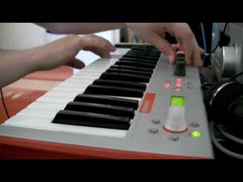 Alesis Micron - Quick demo (my original song)