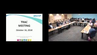 TRAC Committee Meeting 10/16/2018