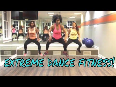 25 Minute Afro-Caribbean & Hip-Hop Dance Fitness Workout | Extreme Cardio Hip-Hop | Dance Workout