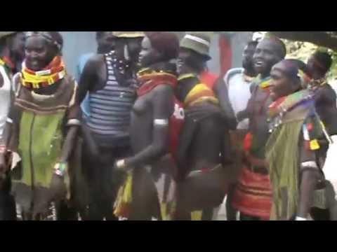 Nyangatom dance-at kangaten peace festival