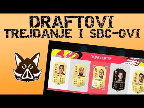 IGRAMO DRAFTOVE!!!! LEAGUE SBC!!!  FIFA 20 BALKAN RTG