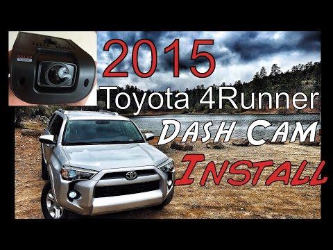 Dash Cam Install - Rexing V1- 2015 Toyota 4runner
