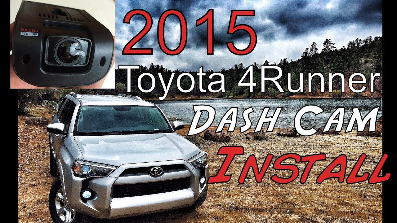 maxresdefault dash cam install rexing v1 2015 toyota 4runner youtube 2014 Toyota 4Runner at readyjetset.co