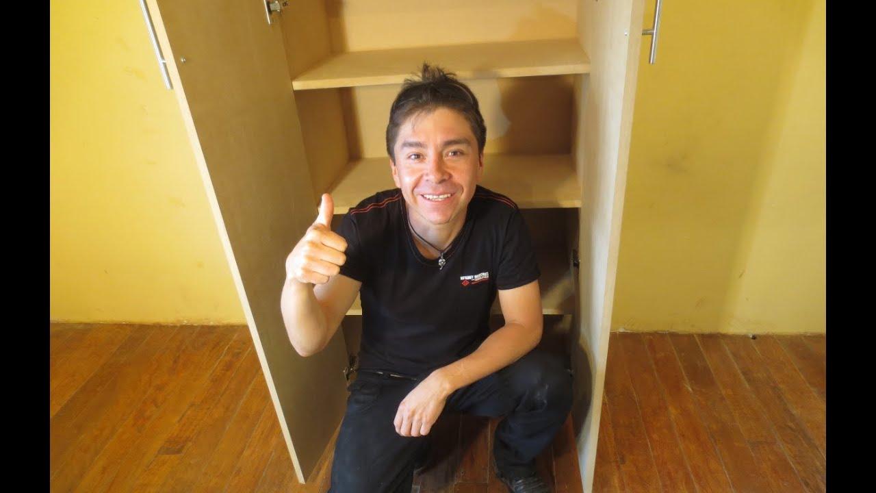 Como hacer un mueble paso a paso estante youtube - Como hacer muebles ...